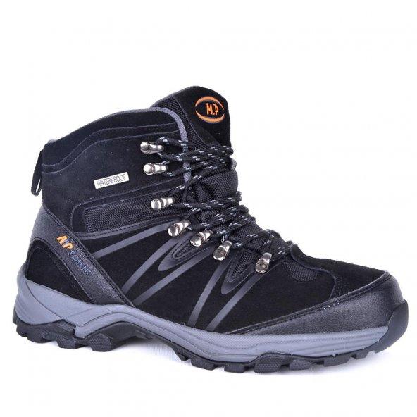 MP 172-1743 100 Deri Erkek Asla Su Soğuk Geçirmez Bot Ayakkabı