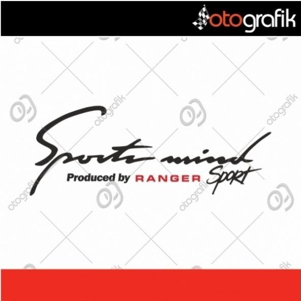 OTOGRAFİK - FORD RANGER SPORTS MIND OTO STICKER