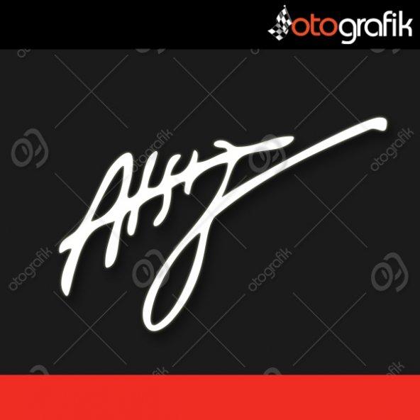 OTOGRAFİK - HÜSEYİN NİHAL ATSIZ İMZA OTO STICKER