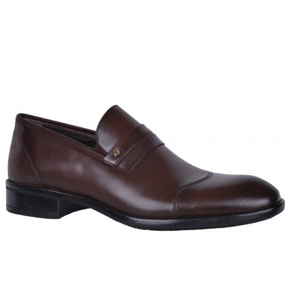 Tegmen 415 100 Deri Erkek Günlük Kundura Ayakkabı