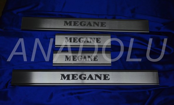 Renault Megane 2 Kapı Eşiği 4 Parça 2004-2010