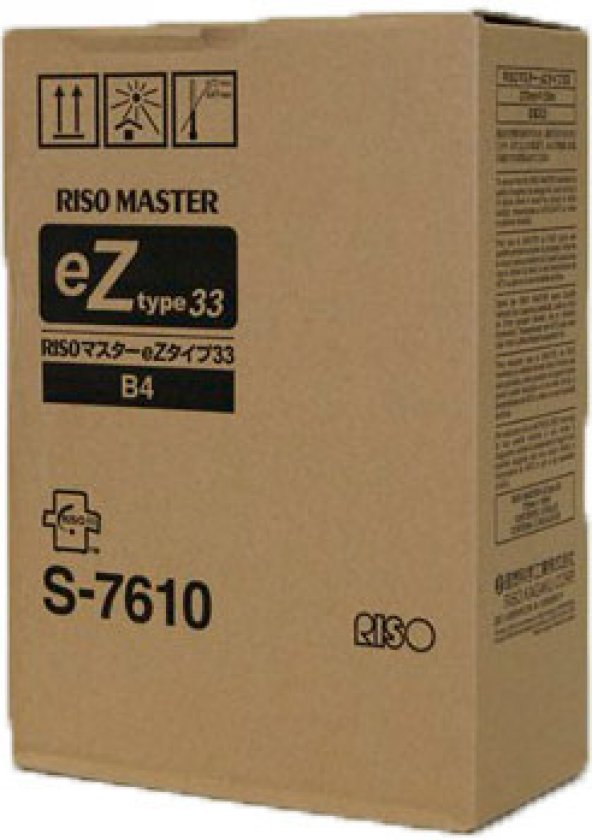 RISO S-7609 EZ-370/371/390/391/570/571/590/591 MASTER ORJİNAL