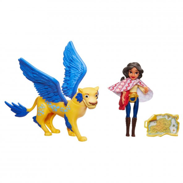 Disney Prenses Elena Mini Figür Oyun Seti