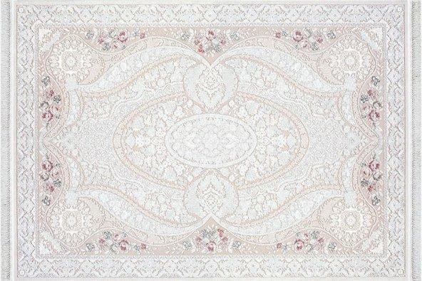 Sanat Hali Beyaz 1860  100x300 cm
