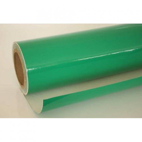 Yeşil Parlak Kendinden Yapişkanli 122 CM  X 2 MT