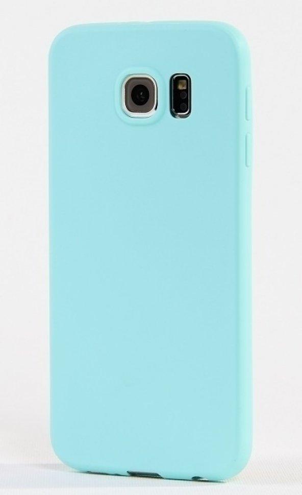 Samsung Galaxy S6 Slikon Kılıf -Turkuaz