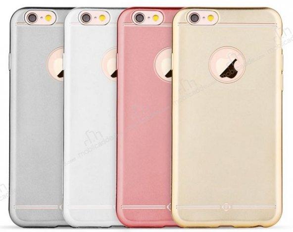 TotuDesing Frosted Series iPhone 6 / 6S Metalik Silikon Kılıf
