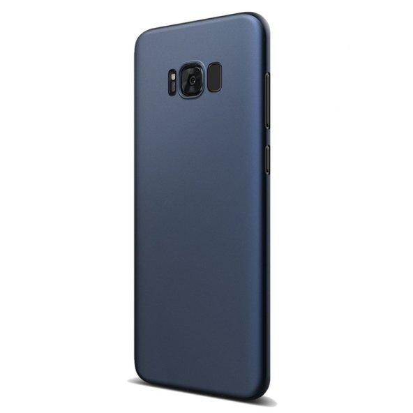 Samsung Galaxy S8 Kılıf Lacivert İnce Zar