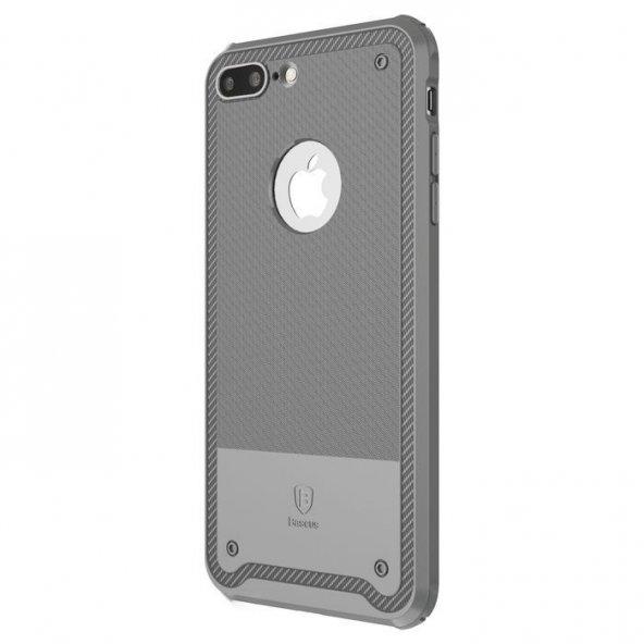 Baseus Shield Pastel Gri iPhone 7 Plus Kılıf