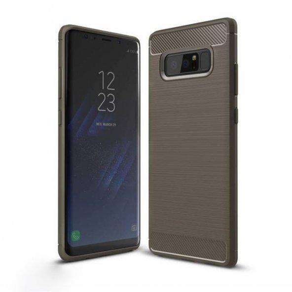 Samsung Galaxy Note 8 Kılıf Army Silikon Gri