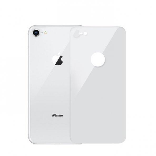 iPhone 8 Beyaz Arka Cam Koruyucu