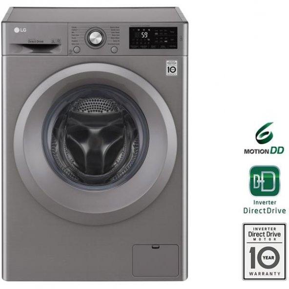 LG F2J5TNP7S 8 Kg 1200 Devir Çamaşır Makinesi