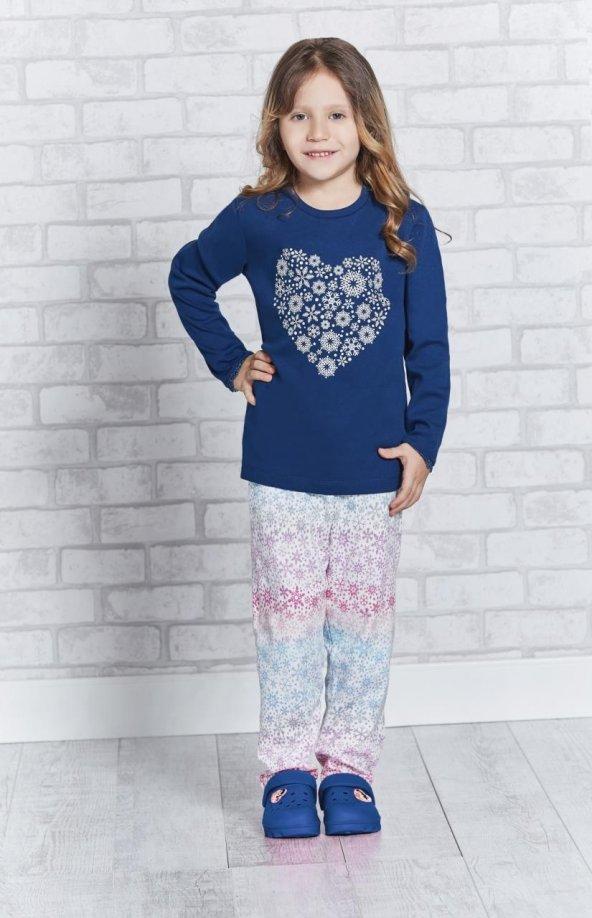 Roly Poly 2152 Kız Çocuk Pijama Takımı 10-16 Yaş