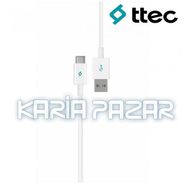 TTec Asus Zenfone 3 Ultra Şarj Kablosu Data Kablosu TYPE-C