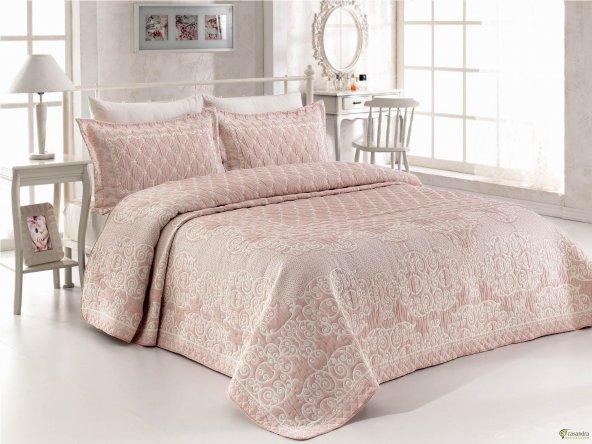 Casandra tek kişilikl yatak örtüsü ivy pudra