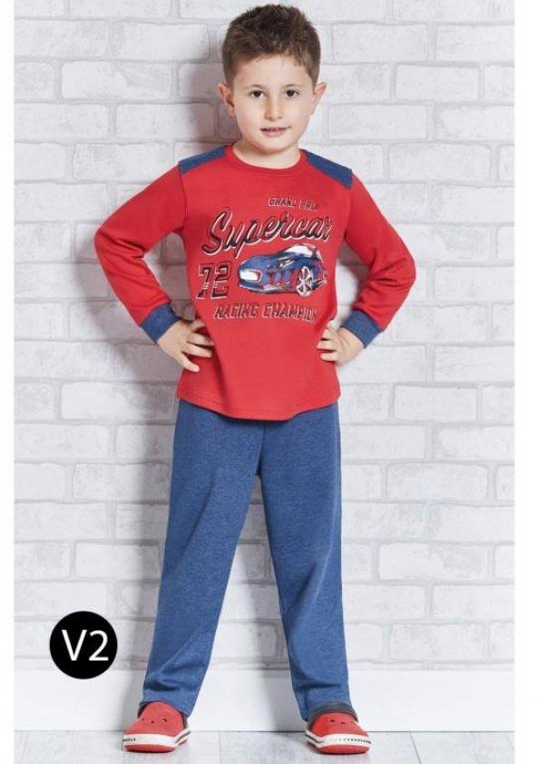 Roly Poly 1107 Erkek Çocuk Pijama Takımı