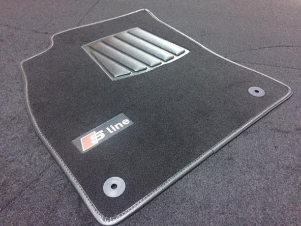 Audi A5 Sline Halı Paspas Seti Araca Özel