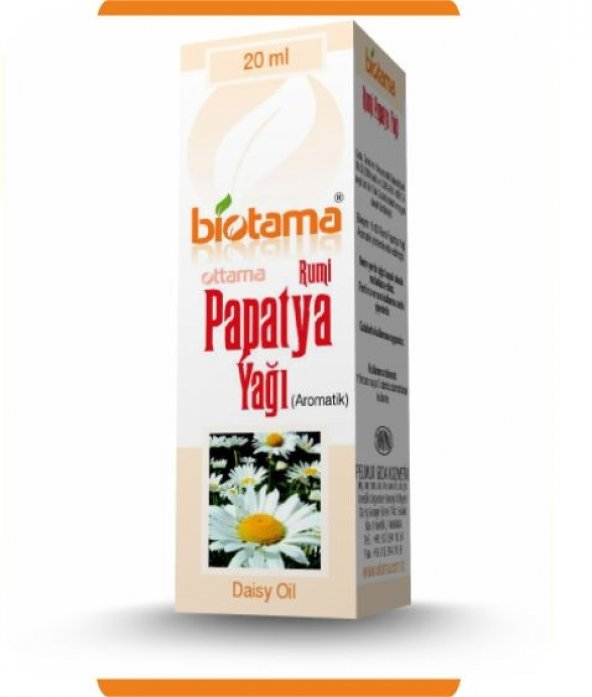 biotama papatya yağı
