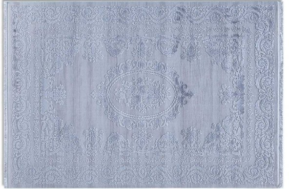 Tuğra Hali Beverly 1501 Gri  120x180 cm