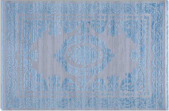 Tuğra Hali Beverly 1501 Mavi  100x300 cm