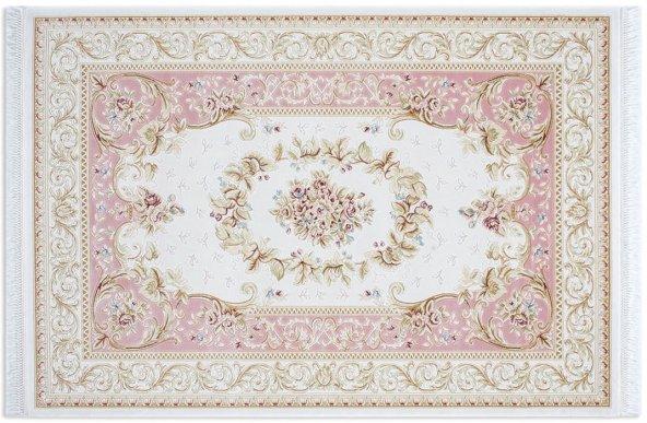 Tuğra Hali Divan 6802 Pembe  100x300 cm