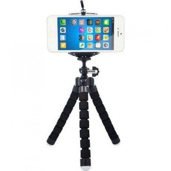 Sünger Ayaklı Akrobatik Cep Telefonu Kamera Fotoğraf Makinesi Aht