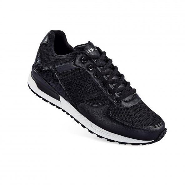 Lescon L-4569 Elegance Siyah Erkek Spor Ayakkabı