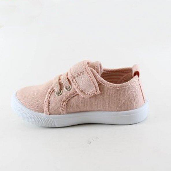 Flubber Kız Çocuk Keten Ayakkabısı 21-25