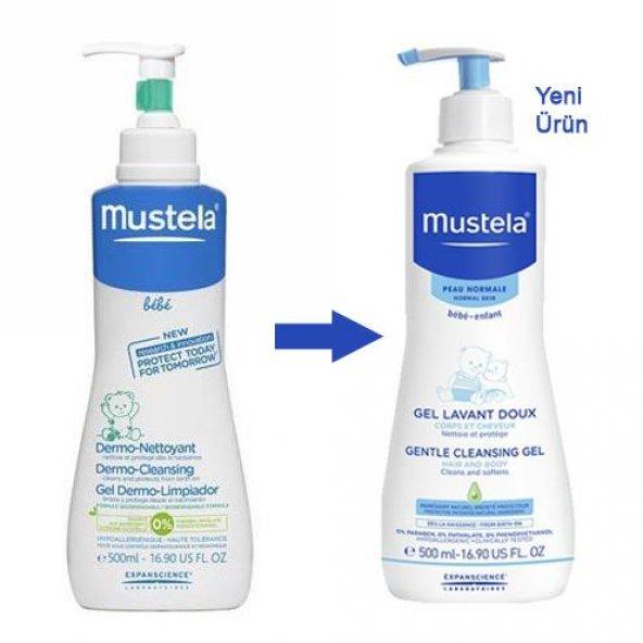 Mustela Dermo Cleansing Gel 500 ml Yenidoğan Şampuanı
