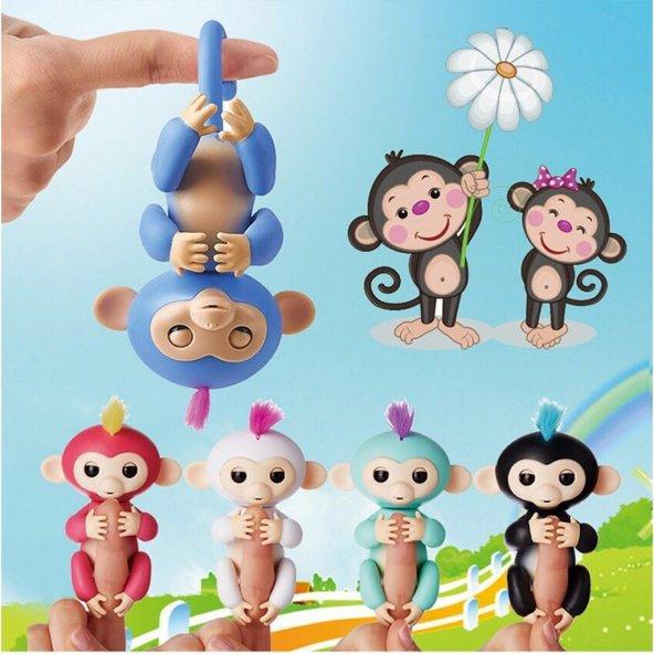 Happy Fingerlings Monkey Konuşan Bebek Maymun 4 Renk