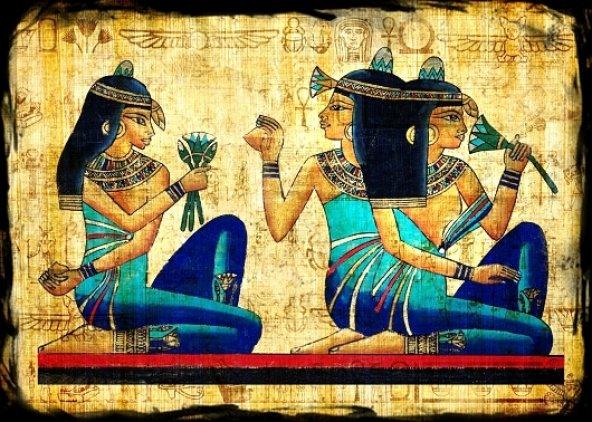 Mısır Kleopatra Ahşap Eskitme Tablo Ev,cafe,ofis dekorasyonu