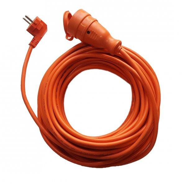 Seyyar uzatma kablosu 3*1.5mm² 20mt