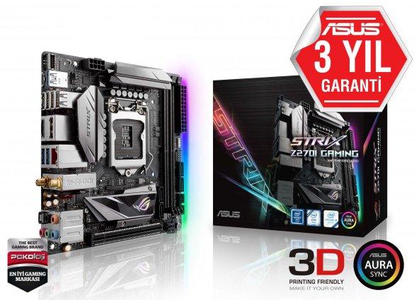 ASUS INTEL ROG STRIX Z270I GAMING Z270 DDR4 4266 GLAN 1151P-7 M2