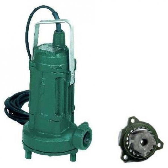 Dab GRINDER 1400 M (Parçalayıcılı) Drenaj Atık Su Dalgıç Pompası
