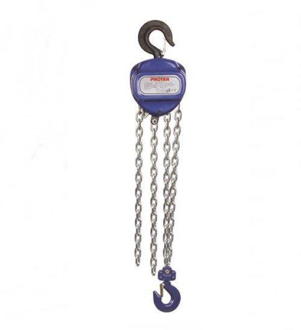 Proter Zincirli Ceraskal 2 Ton- 3 Metre Zincirli