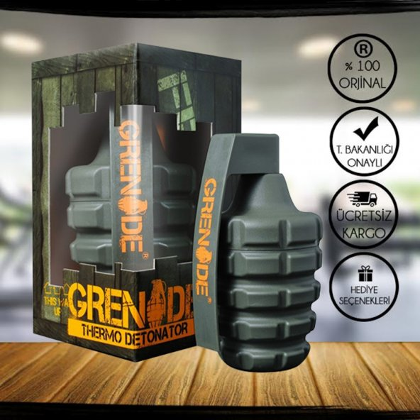 Grenade Thermo Detonator 100 Kapsül + 2 Hediye