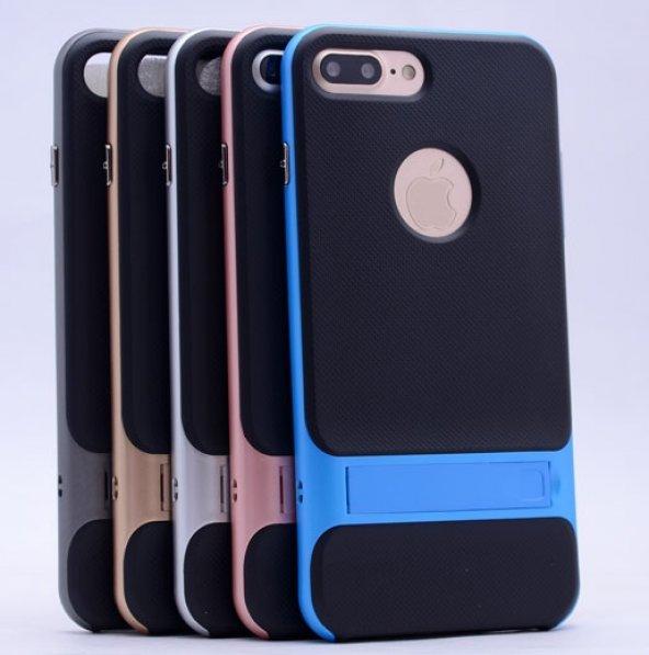 İPhone 7 Mavi Stantlı Kılıf