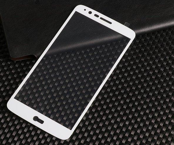 LG Stylus 3 Ekranı Tam Kaplayan Cam Ekran Koruyucu
