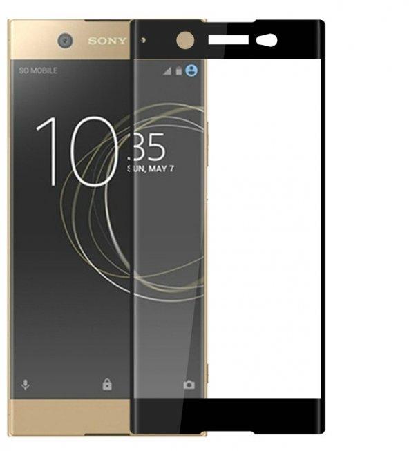 Sony Xperia XZ Ekranı Tam Kaplayan Cam Ekran Koruyucu