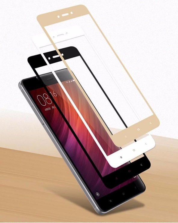 Xiaomi Mi 5s Plus Ekranı Tam Kaplayan Cam Koruyucu