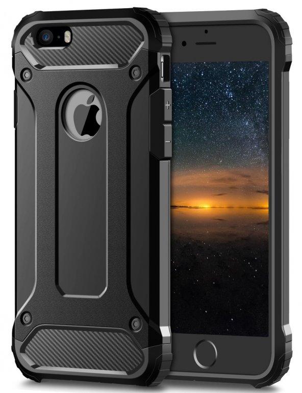iPhone 7 Plus Silikon Armor Hybrid Zırh Kılıf
