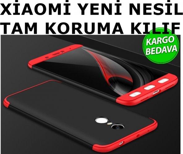 XİAOMİ Mi 5 5S 5X 6 Max 2 Redmi Note 4x 5A i360 Tam Koruma Kılıf