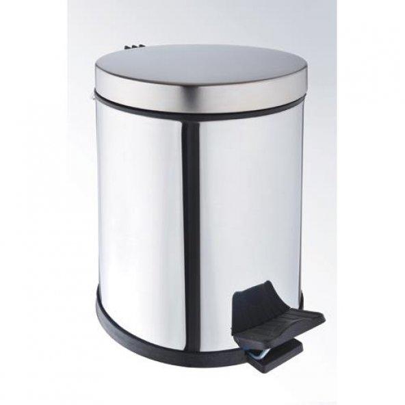 Onno CK-9000-12 Pedallı Paslanmaz Çöp Kovası 12 LT