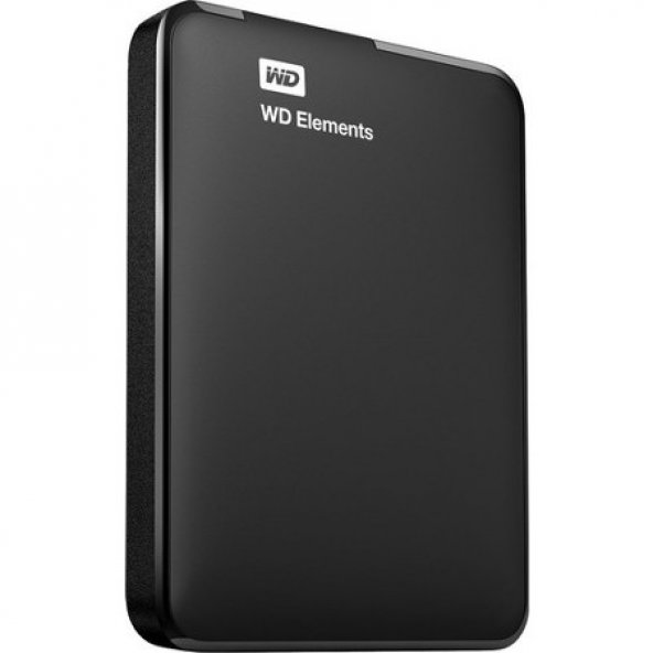 WD Elements 1TB 2.5 USB 3.0 Taşınabilir Disk (WDBUZG0010BBK-WESN