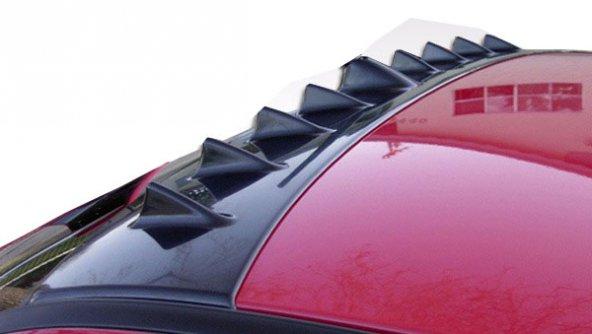 Mitsubishi Lancer 2009 Sonrası Evolution 10 Cam Üstü Spoiler (Pla