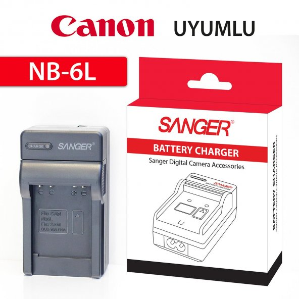 Canon NB-6L Araç Şarj Aleti Sanger