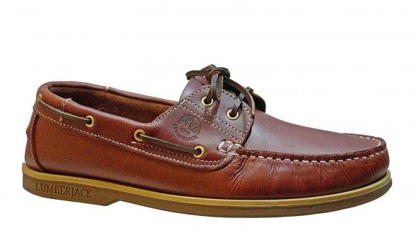 Lumberjack Navigator 100242155 Erkek Kızıl Kahve Günlük Ayakkabı