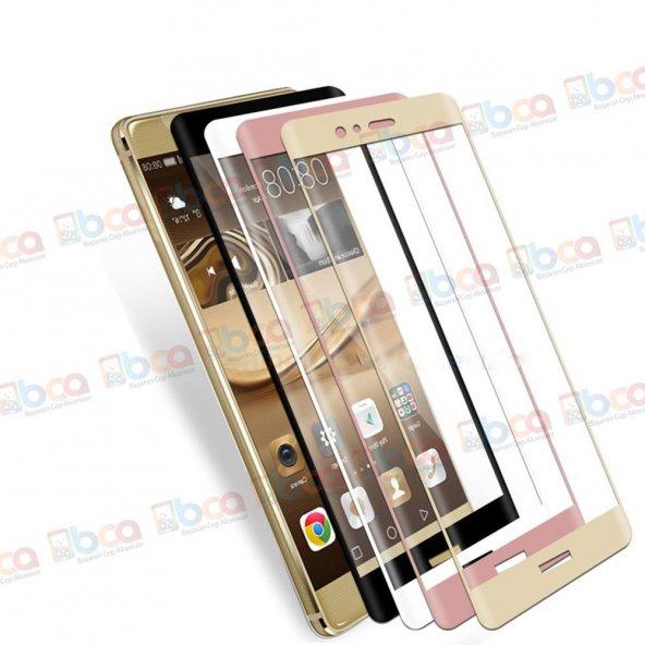 Huawei P9 Lite 3D Komple Kapatan Kırılmaz Cam Ekran Koruyucu