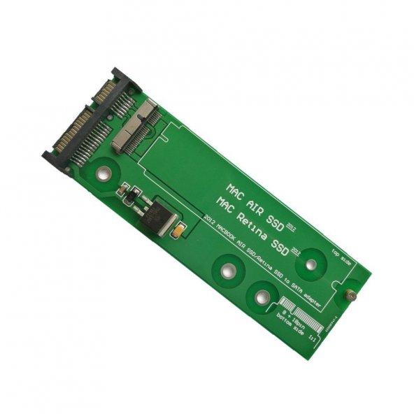 2012 Macbook Air Ssd Harddisk Çevirici Adaptör A1398 A1425