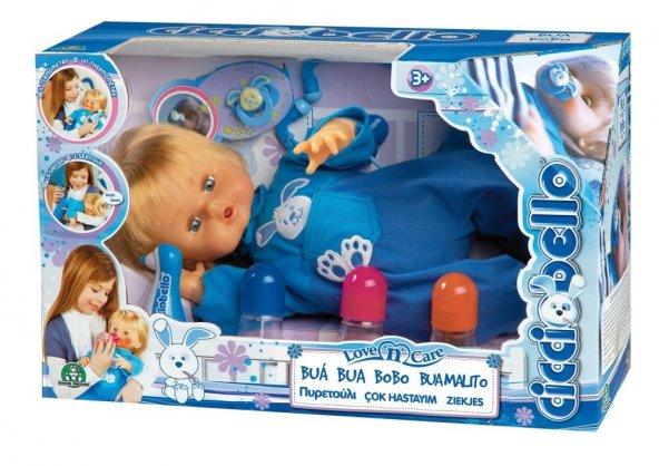 Cicciobello Çok Hastayım Oyuncak Bebek ve Doktor Seti